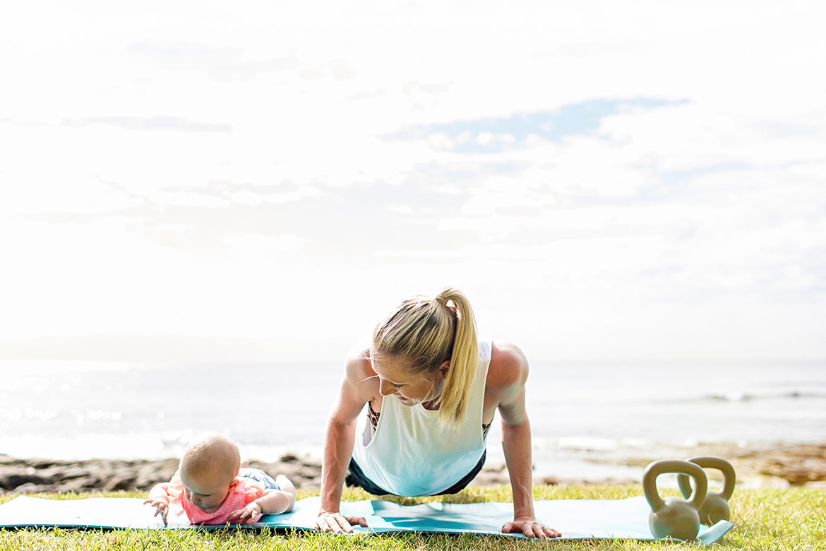 FINALLY! A Fitness + Yoga App Designed Just for Mums!
